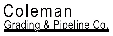 Colemand Grading and Pipeline